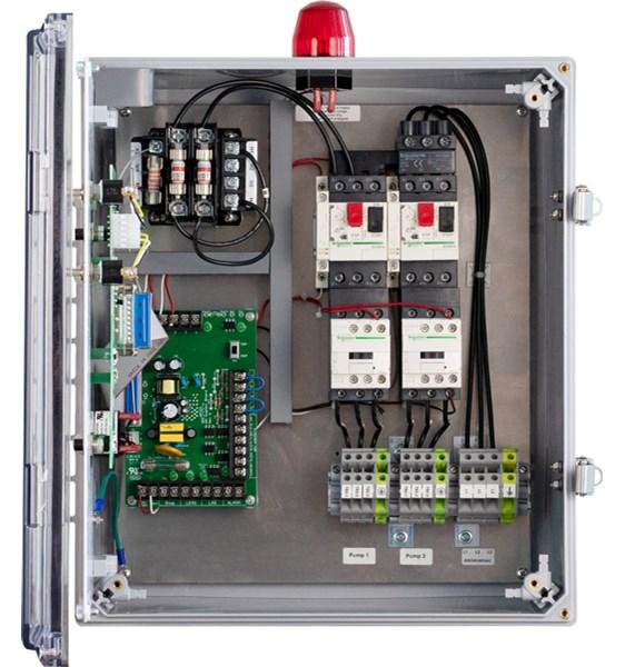 Three Phase Duplex Demand Wd3p 4 Pump, Well Pump Control Box Wiring Diagram