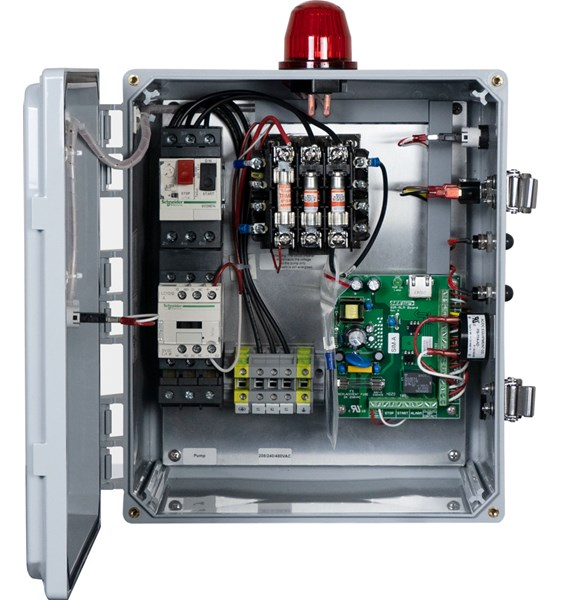 Sim A Three Phase Simplex Pump Control Panel See Water Inc